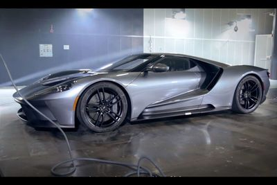 Video: See The Ford Gt's Amazing Aero Package At Work During Wind Tunnel Testing