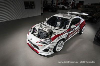 World's First Toyota 86 Powered By A 4.1l Hks Gt1000 R35 Gtr Engine!