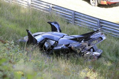 Video: A Koenigsegg One:1 Was Just Crashed Hard At The N`rburgring