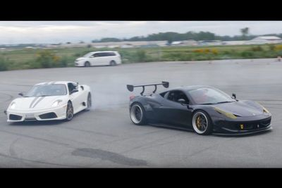 Video: Drifting Ferrari's With Pro Fd Driver Ryan Tuerck!