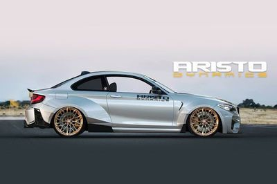 Aristo Dynamics Flaunts Their Upcoming Wide Body Bmw M2