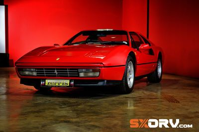 A Ferociously Sexy Ferrari From Times Gone By.