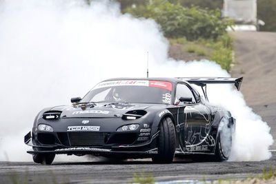 Video: Mad Mike Takes On The Famed Japanese Ebisu Circuit With 'humbul', His Custom Built Rx7 Pumping Out 1000hp, And Wins Formula Drift!