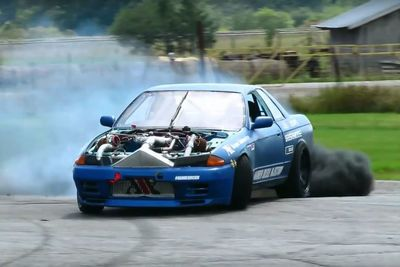 Video: A Diesel Powered, Twin-turbo Drift Car, Say What!?