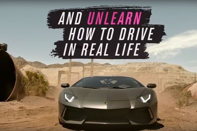 Video: These Teenagers Hoon An Aventador In The Desert Like They're Playing Forza!