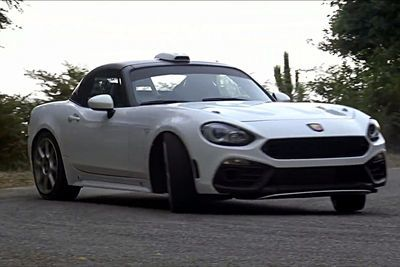 Video: Fiat 124 Abarth R-gt First Test Drive!