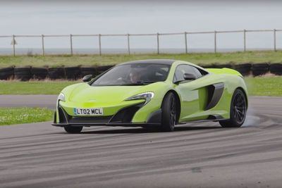 Video: In Case Anyone Needed Proof Of The Tire Massacring Mclaren 675lt's Raw Speed From It's Devilish 666hp Twin Turbo V8, Here It Is!