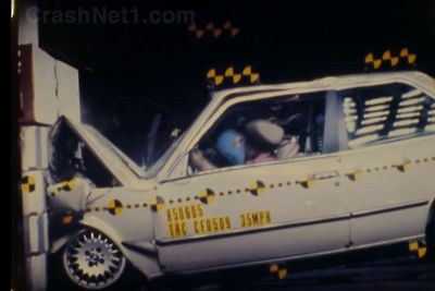 Video: Here's A Fun Activity: Look Up Crash Test Videos For Your Old Car