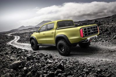 This Is Mercedes-benz's New Premium Pick-up Truck, The X-class!