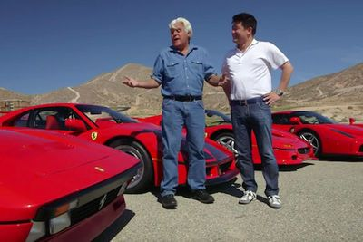 Video: Jay Leno Meets One Of The World's Most Fanatical Ferrari Collectors, Who Brings Along Five Of His Favourites, All Worth Well Over $1 Million!