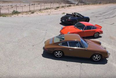 Video: Patrick Dempsey And Jay Leno Hit The Track In A Porsche 911 Rs