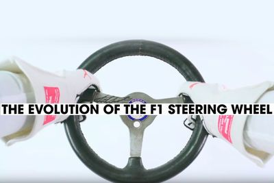 Video: The Evolution Of The F1 Steering Wheel
