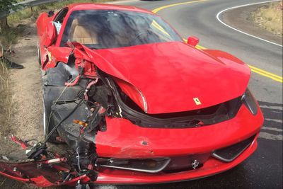 Video: Watch A Guy Destroy His Friends $300k Ferrari 458 Italia. Ouch!