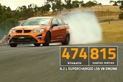 Video: R.i.p ' Holden Unveils Its Final Hsv Range, Including The Mental 6.2 Litre, Supercharged V8, Gtsr W1 Pumping Out 640hp ' It's The Perfect Goodbye. You Will Be Missed!