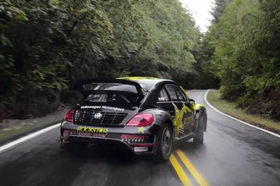 Video: Tanner Foust Takes Us Along For A Forest Speed Run In His Rally Spec Vw Beetle!