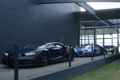 Video: Watch The Sexyness As The First Three Production Bugatti Chirons Leave The Factory.