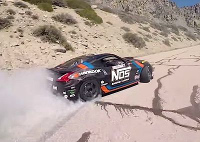 Video: One Mountain, No Practise, No Do-overs! ' Watch Drift God Chris Forsberg Lay Some 'fresh Tracks' At Full Speed Up A Winding California Road!