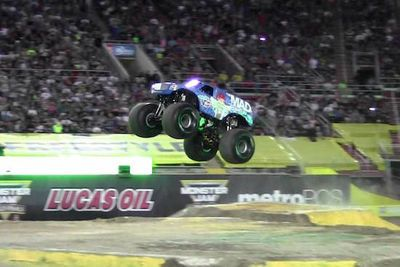 Video: Monster Truck Does The World's First Ever Front Flip!