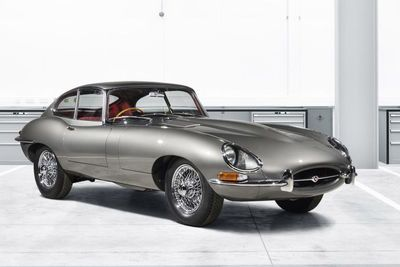 Jaguar Will Sell 10 Lucky People A Brand New Jaguar E-type. Well Basically New...