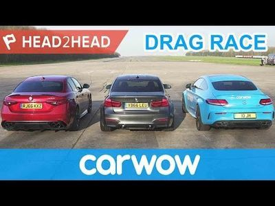 Video: Can The Alfa Romeo Giulia Quadrifoglio Beat An M3 And C63 S In A Drag Race?