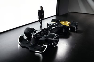 Video: Renaults New R.s. Vision Concept Car Is The Future For Formula 1