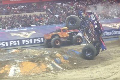 Video: Watch This Monster Truck Do Handstands