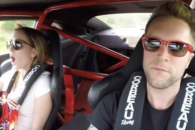 Video: The Exhaust Is So Loud It Makes The Airbags Blow!!