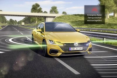 Vw's New Arteon Will Pull Over If You Black Out At The Wheel!