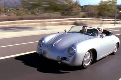 Video: Jay Leno Takes The 1975 Porsche 356a Outlaw Speedster For A Spin!