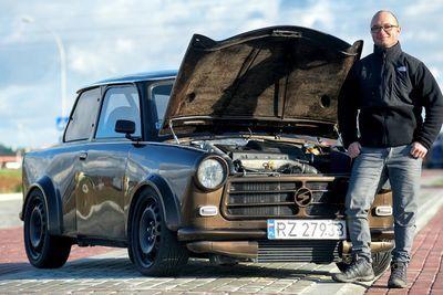 Video: A Trabant Gets An Audi Tt Engine!!