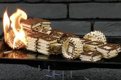 Video: Build Awesome F1 Racing Car With Matches!