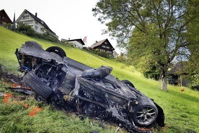 Video: Richard Hammond Crashes In Switzerland!