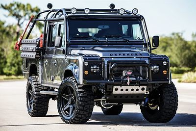Video: This Custom Land Rover Suv Looks Like A Tank!