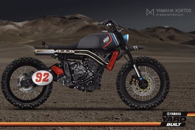 Custom Yard Built Yamaha Bikes