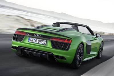 The New 2018 Audi R8 Spyder V10 Drops In Germany
