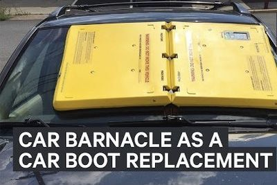 Video: The Car Barnacle - Replacement For Wheel Clamps