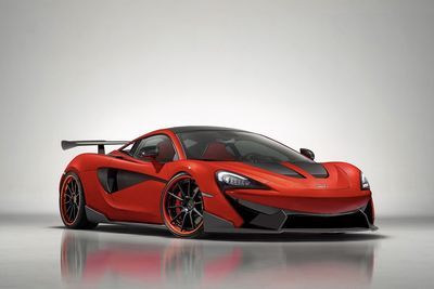 Mclaren Sport Series Is Taken To New Extremes By 1016 Industries!!
