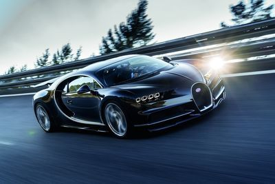 Bugatti Test Drive Suggests The Chiron Might Hit 280+ Mph!!