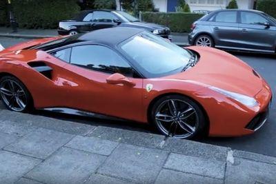 Video: When You Run Out Of Fuel In A Ferrari 488!