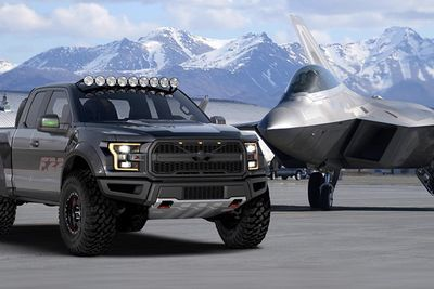 Video: Jet-inspired Ford F-150 Raptor Boasts 545hp, It Looks Wild!