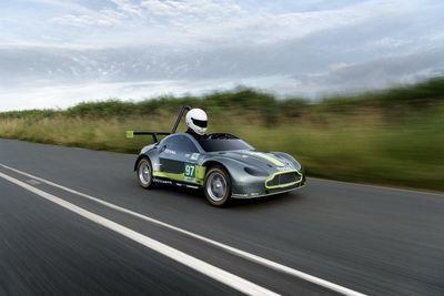 Aston Martin's First Silent, Zero-emission Vehicle!