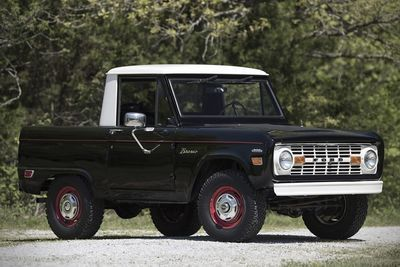 The Ford Bronco U14 Half Cab Pick-up Truck Is A True Vintage-gem!