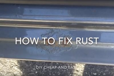 Video: Diy Easy And Cheap Rust Repair For Your Car