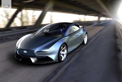 Video: The Infiniti Q50 Is A Futuristic Concept For 2025