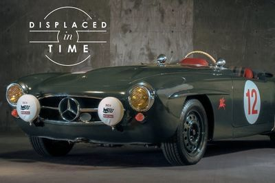 Video: The Mercedes-benz 190sl Is Displaced In Time!
