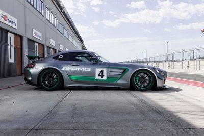 New Mercedes-amg Gt4 Reports For Duty