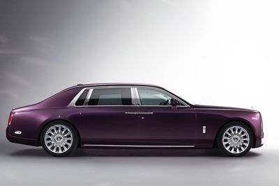 The New Rolls-royce Phantom ' With Its Own Art Gallery!