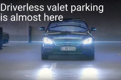 Video: Daimler And Bosch Have Created An Automated Parking Garage!