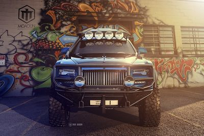 The Rolls-royce Ghost Gets An Off-road Makeover!