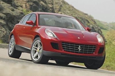 Ferrari Confrims A 'utility Vehicle' ' A Ferrari Suv!